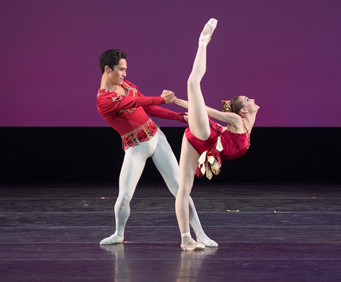 Rubies - Choreography by Balanchine Lauren Lovette and Jeffrey Cirio - Photo: Casey Herd