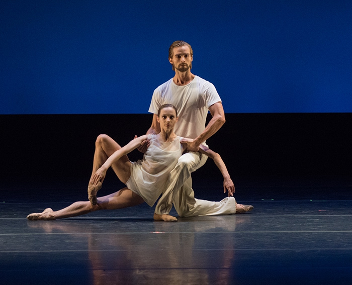 Closer - Choreography by Benjamin Millepied Maria Kochetkova and Sebastian Kloborg - Photo: Casey Herd