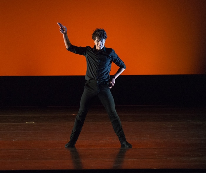 Bob - Choreography by Dani Rowe Esteban Hernández - Photo: Casey Herd