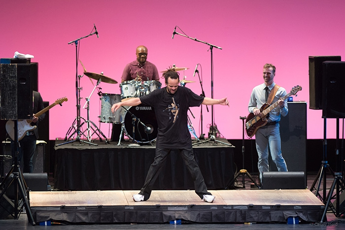 Savion Glover and Dance Candy Band - Photo: Casey Herd