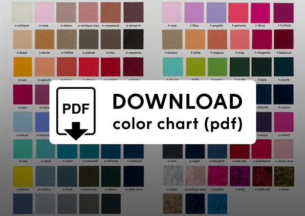 Yumiko Color Chart PDF
