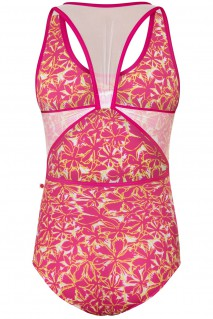 Alex Tropical Magenta White Mesh N-Jazz