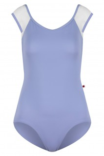 Body: T-Lilac; Mesh: White (Long Sleeves); Trim: N-White