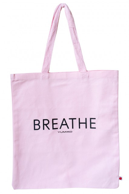 "Canvas Tote ""Breathe"""