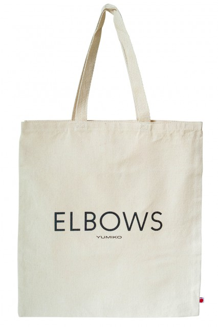"Canvas Tote ""Elbows"""