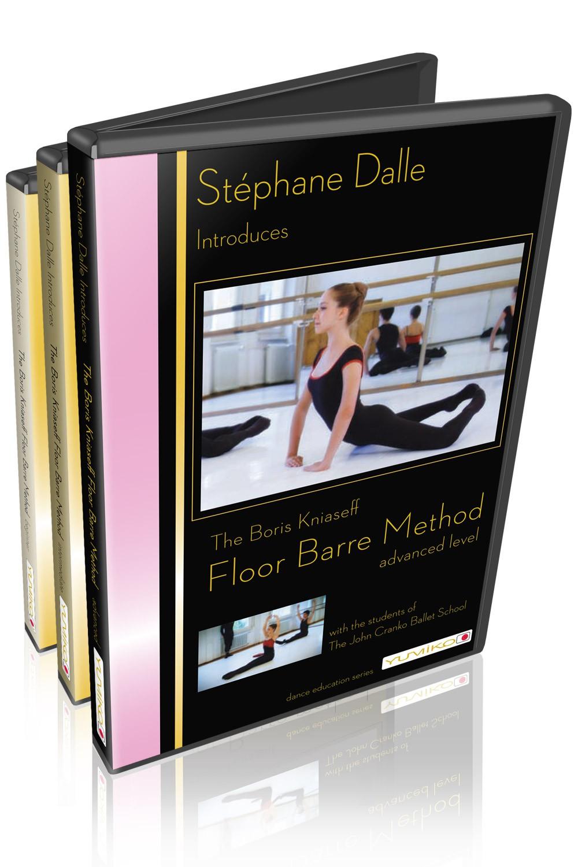 Stéphane Dalle's Floor Barre - DVD Set