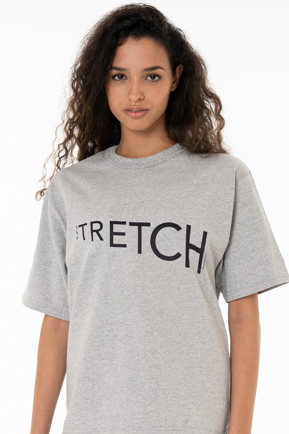 "Grey T-Shirt ""Stretch"""