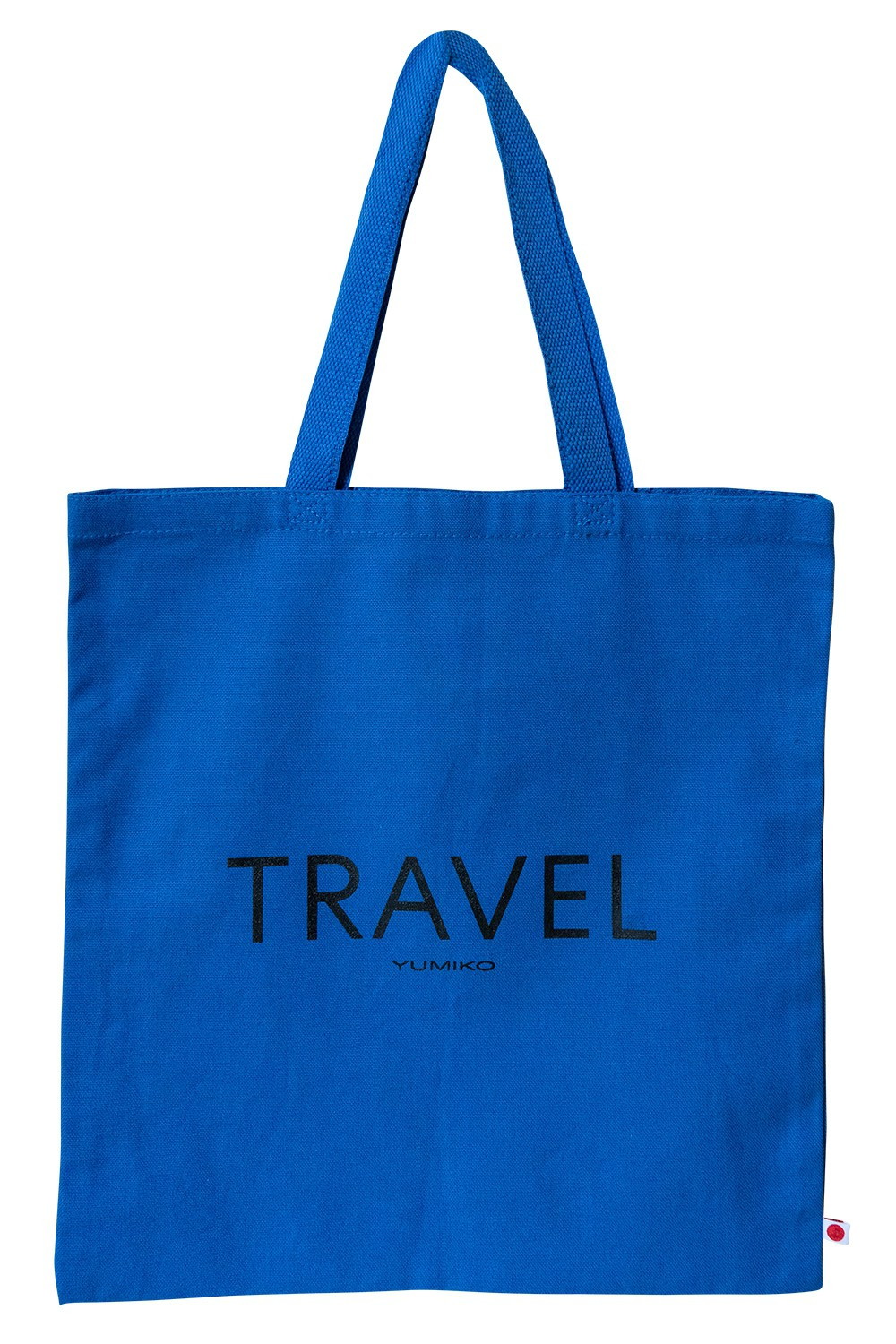 "Canvas Tote ""Travel"""