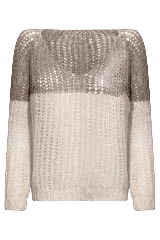 Michele & Hoven V Neck Sweater