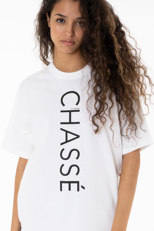 "White T-Shirt ""Chasse"""