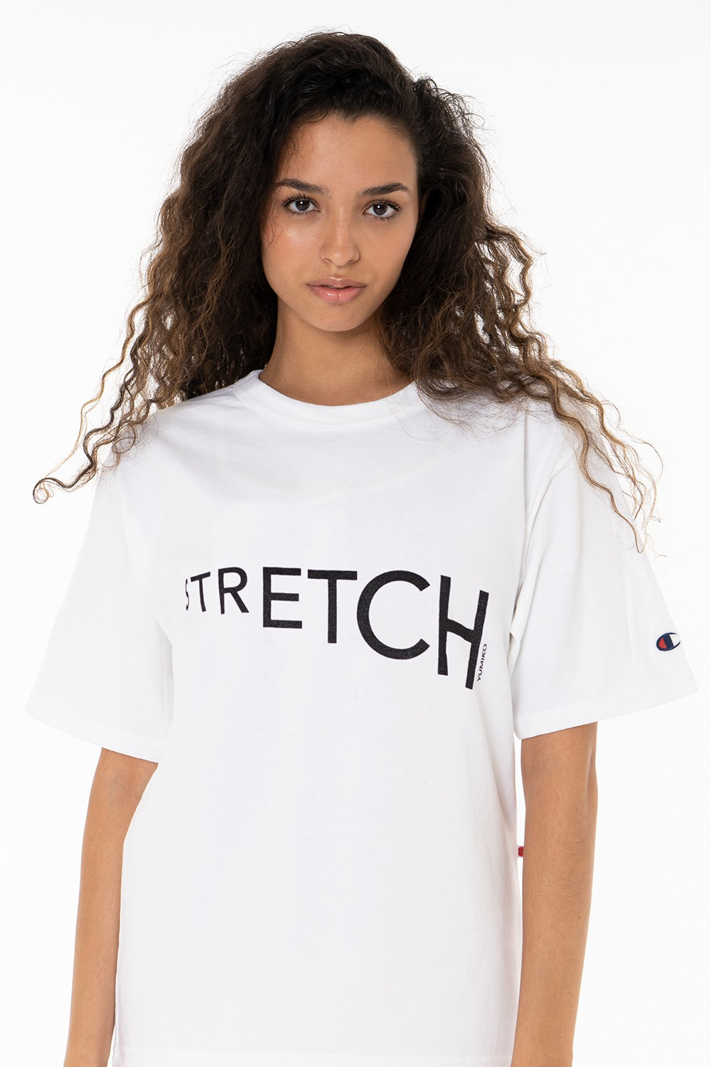 "White T-Shirt ""Stretch"""