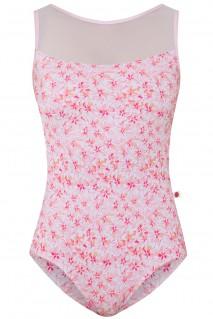 Meagan Pink Blossom White Mesh N-Rose