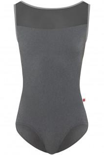 Meagan P-Grey Granite Mesh-Black N-Ash