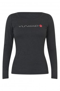Women's Heather Grey Long-Sleeve T-Shirt