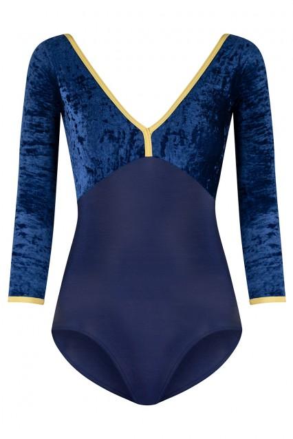 Alicia N-Dark Blue V-Dark Blue N-Gold