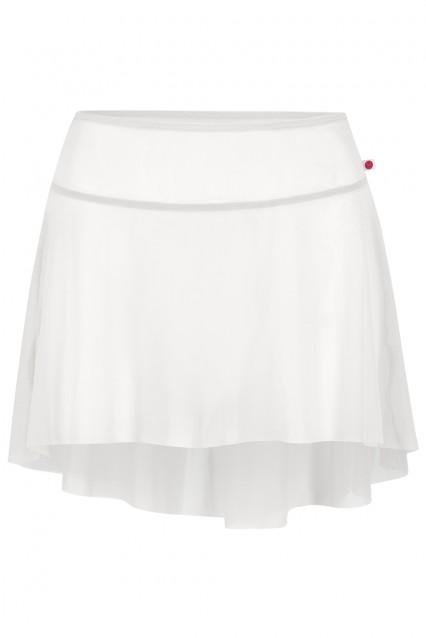 Short Skirt; Mesh: Black