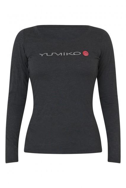 Women's Heather Grey Long-Sleeve T-Shirt