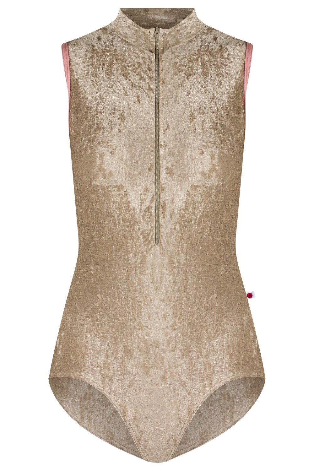 Jessica V-Toffee Mesh Brule N-Antique Rose