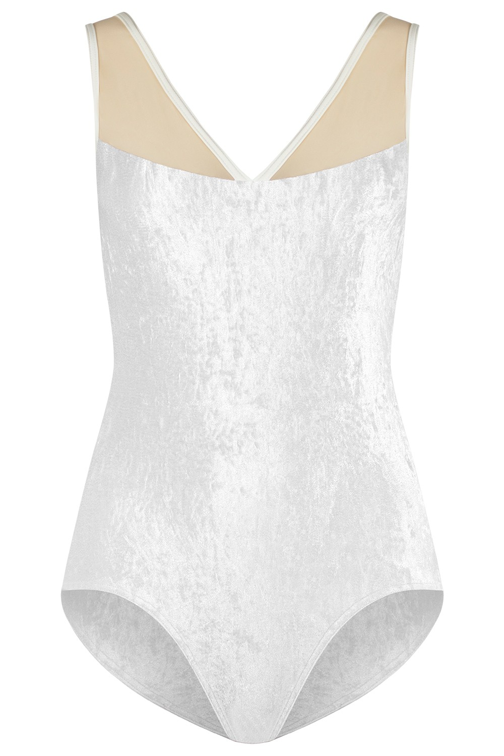 Masha V-White Mesh Brule N-Antique