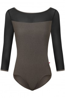 Meagan P-Smokey Topaz Mesh-Black N-Star