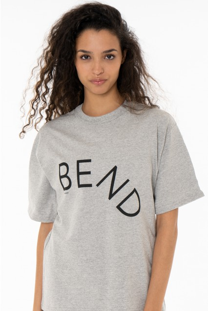 "Grey T-Shirt ""Bend"""