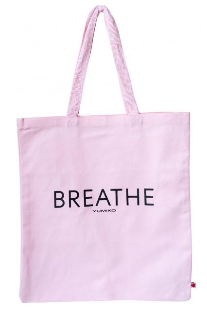 """Canvas Tote """"Breathe"""""""