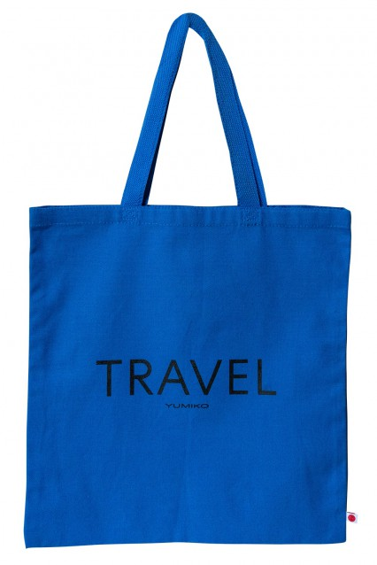 """Canvas Tote """"Travel"""""""