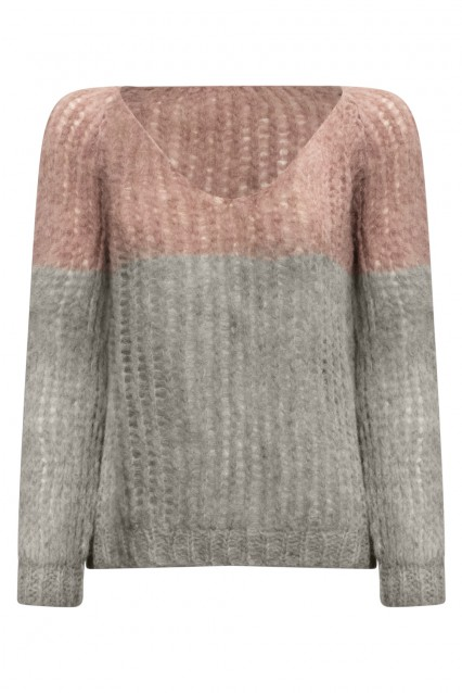 Michele & Hoven V Neck Sweater