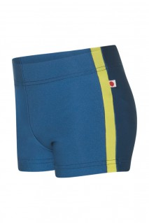 Kids Steven Shorts, N-Cove with N-Lemon Side Stripes
