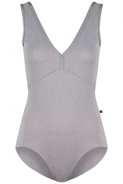 Alicia in Heather Grey, Mesh White and N-Sterling trim