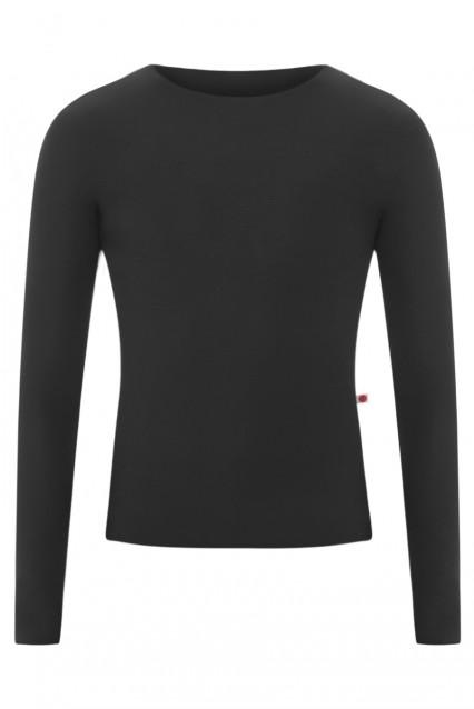 Long Sleeves Top in Amazing Black
