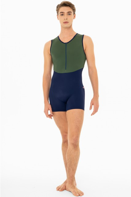 Ken T-Cosmo T-Verde with T-Cosmo trim and zipper