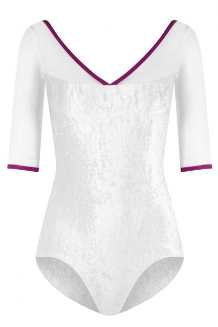 Masha V-White, Mesh White with N-Orient trim