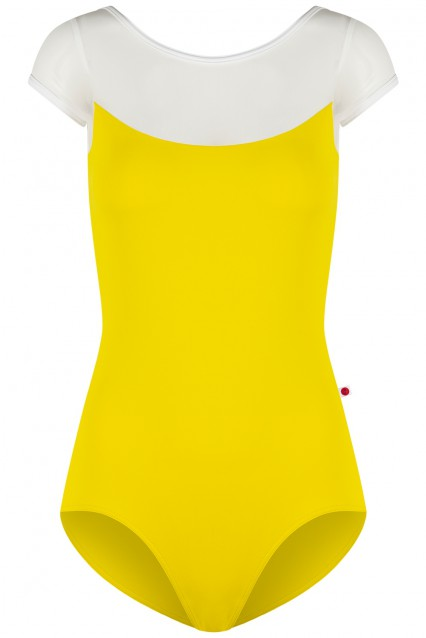Meagan T-Buttercup, Mesh White with T-White trim