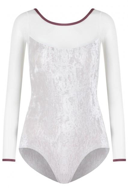 Meagan V-Silver, Mesh White with N-Phoenix trim