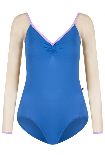 Nina Pinch T-Lapis, Mesh Brule with T-Lilac trim