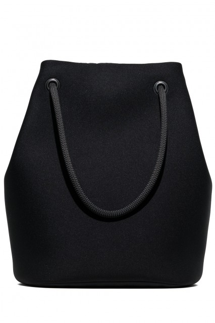 Embee Black Shopper Bag