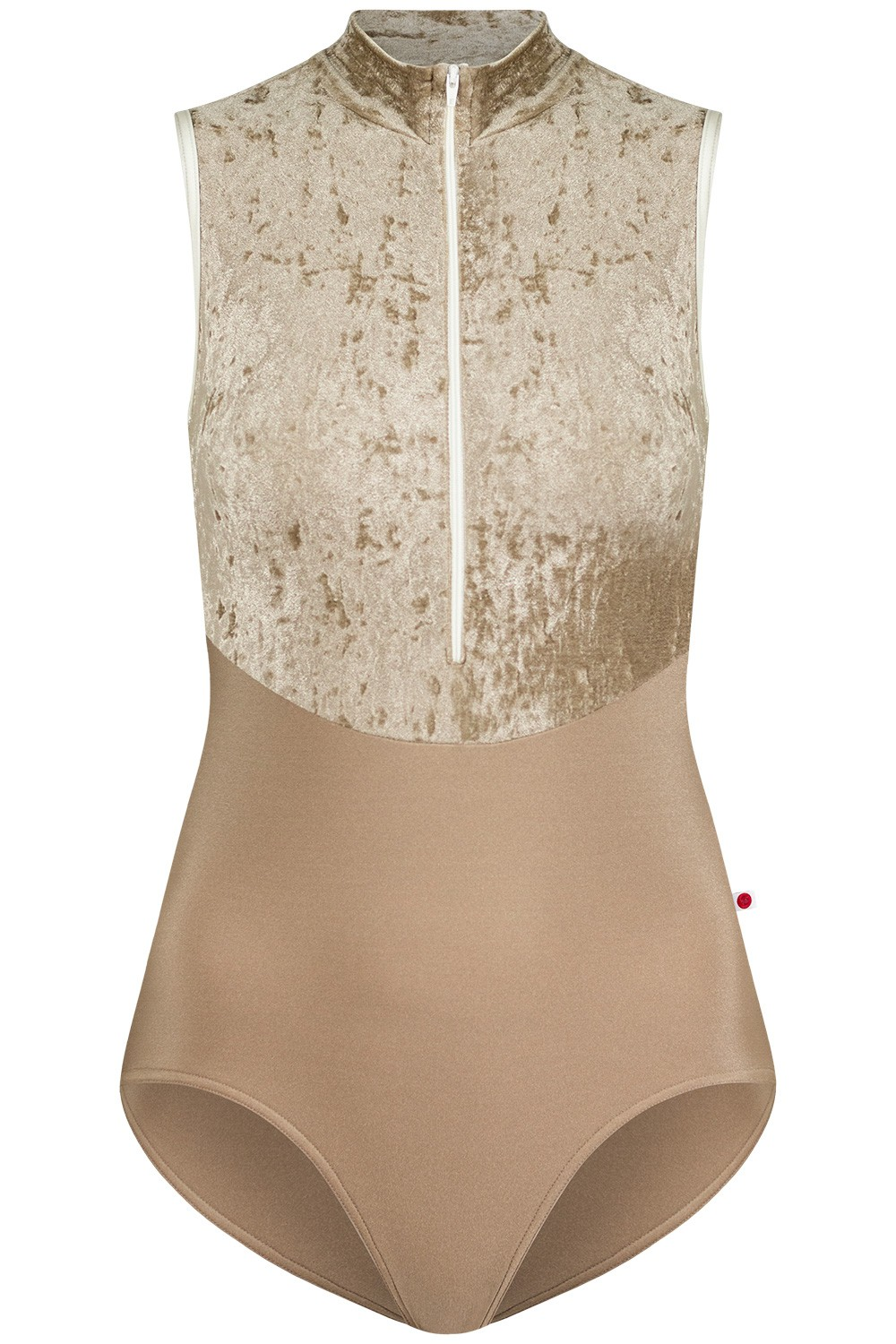 Jessica Duo N-Toffee, V-Toffee with N-Antique trim and zipper