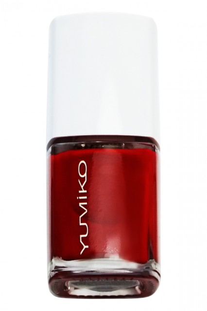 Nail color: C-Hot Red
