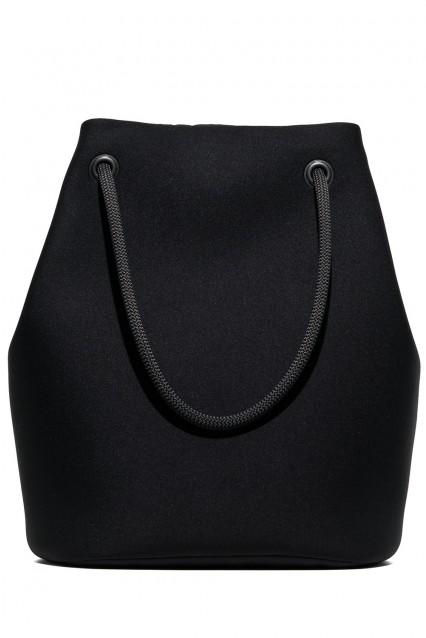 Embee Black Shopper Bag