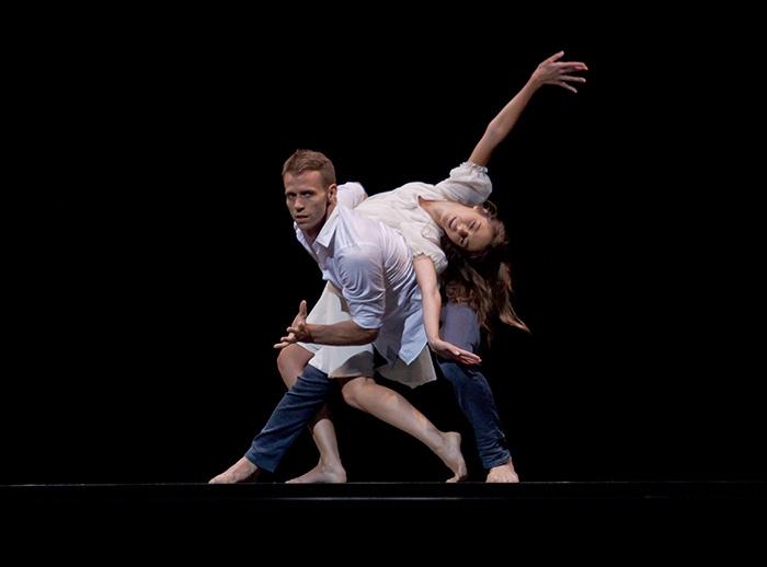 Nutcracker - Choreography by Sidi Larbi  Marion Barbeau and Jason Kittelberger Photo: Alejandro Lopez