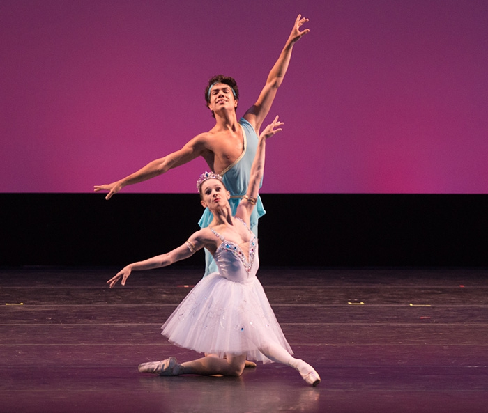 Talismán - Choreography by Marius Petipa Maria Kochetkova and Esteban Hernández - Photo: Casey Herd