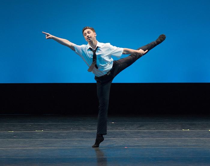 Les Bourgeoises - Choreography by Ben Van Cauwenbergh Denys Cherevychko - Photo: Casey Herd