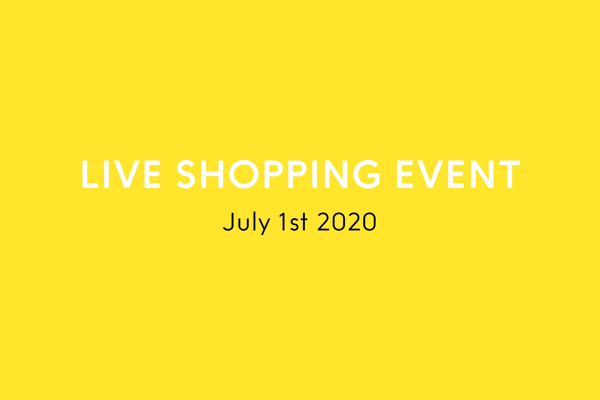 Yumiko Live Shopping Event