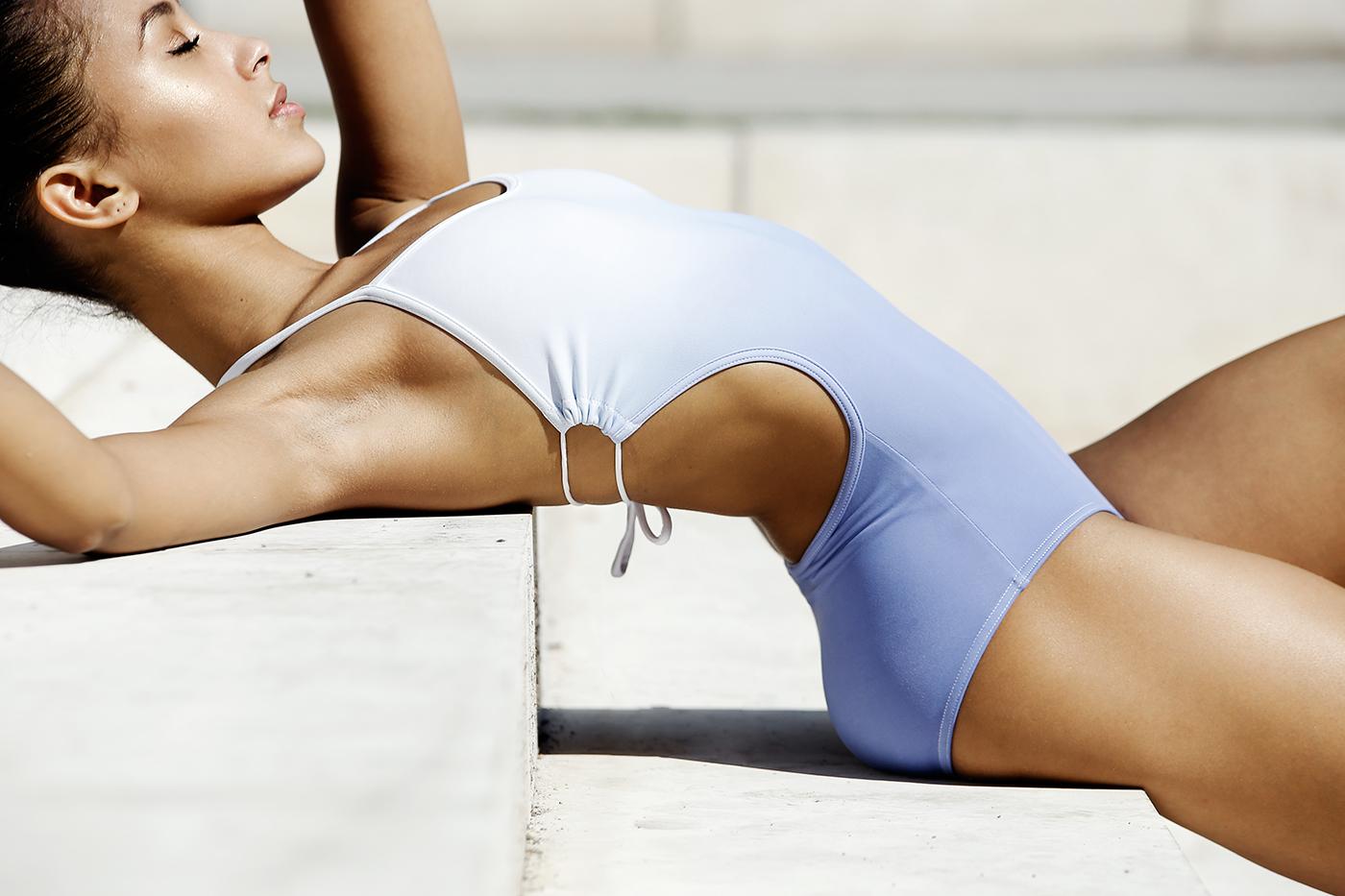 Yumiko Summer Style Tip Swimwear Leotard 2